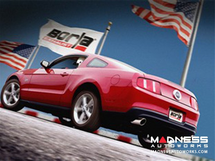 Ford Mustang GT - Performance Exhasut by Borla - Cat-Back Exhaust - ATAK (2010)
