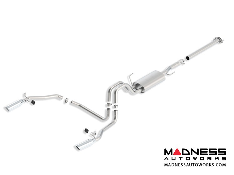 Ford F-150 EcoBoost - Performance Exhaust by Borla - Cat-Back Exhaust - Touring (2011-2014)