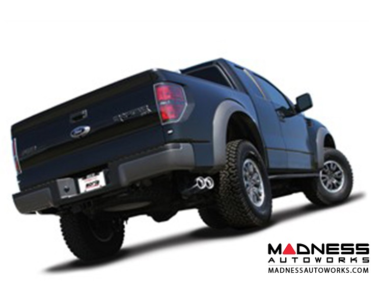 Ford F-150 SVT Raptor/ F-150 Harley Davidson - Performance Exhaust by Borla - Cat-Back Exhaust - S-Type (2010-2014)