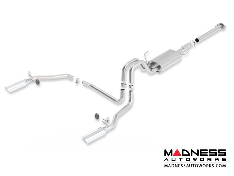 Ford F-150 EcoBoost - Performance Exhaust by Borla - Cat-Back Exhaust - S-Type (2011-2014)