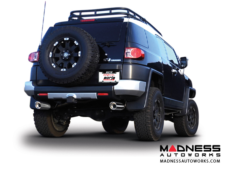 Toyota FJ Cruiser - Performance Exhaust by Borla - Cat-Back Exhaust (2010-2014)
