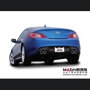 Hyundai Genesis Coupe - Performance Exhaust by Borla - Cat-Back Exhaust (2010-2014)