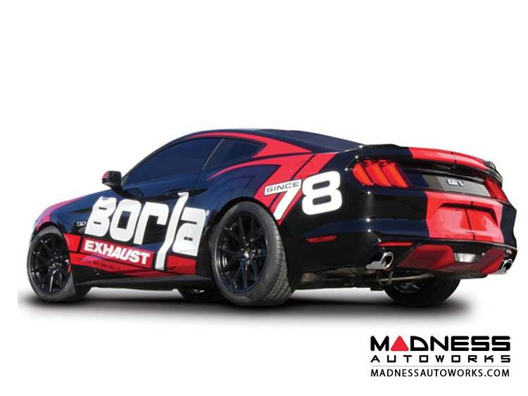Ford Mustang GT - Performance Exhaust by Borla - Rear Section Exhaust - ATAK (2015)