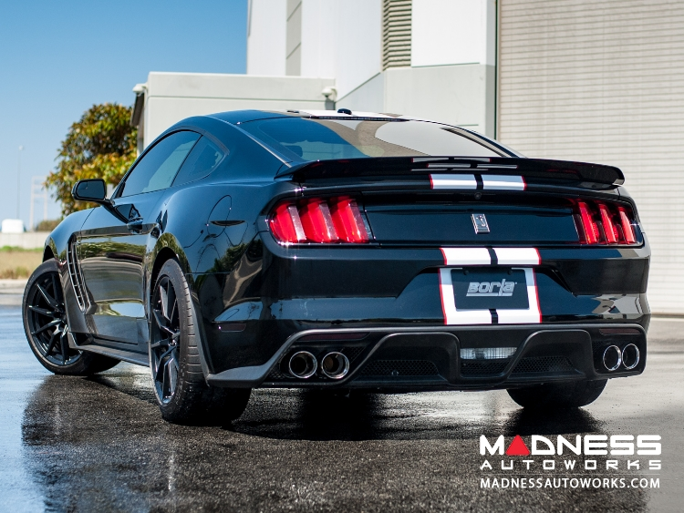 Ford Mustang Shelby GT350 - Performance Exhaust by Borla - Cat-Back Exhaust - ATAK (2015-)