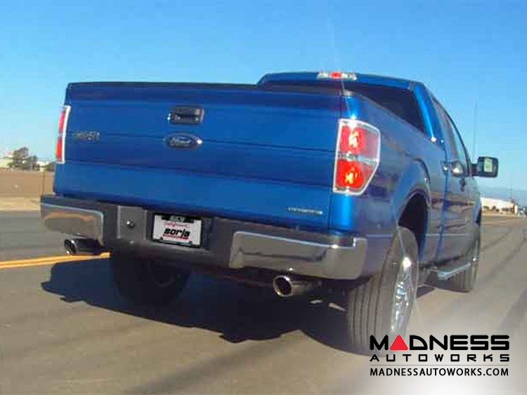 Ford F-150 3.5L EcoBoost Performance ATAK Exhaust by Borla - Cat-Back (2011-2014)