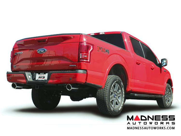 ford ford f 150 3 5l ecoboost performance atak exhaust by borla cat back 2015 2017. Black Bedroom Furniture Sets. Home Design Ideas