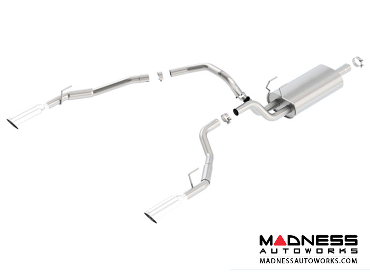 Dodge Ram 1500 - Performance Exhaust by Borla - Cat-Back Exhaust - Touring (2009-2015)