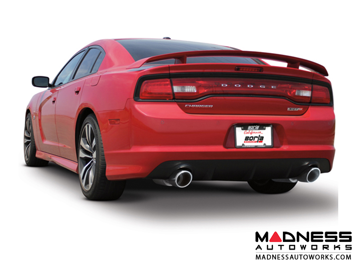 Dodge Charger SRT-8 - Performance Exhaust by Borla - Rear Section Exhaust - ATAK (2012-2014)