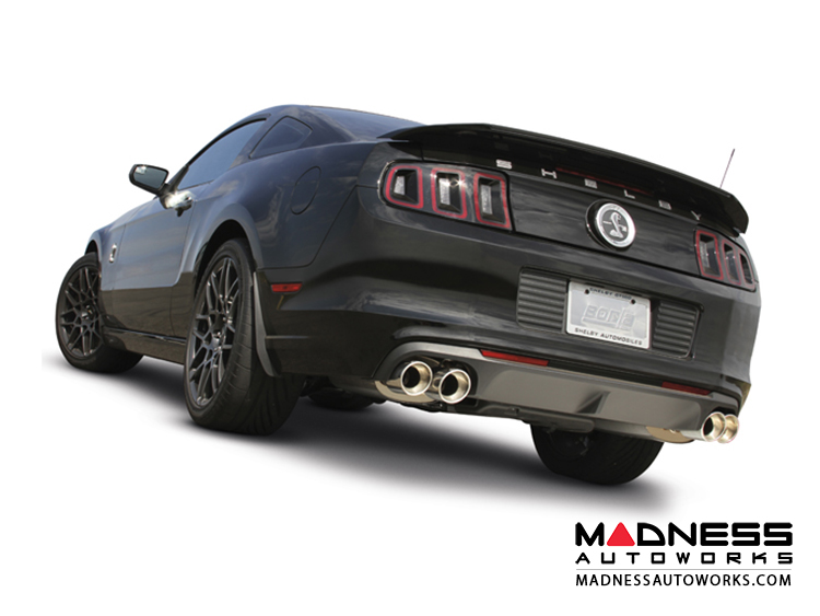 Ford Shelby Mustang GT500 - Performance Exhaust by Borla - Rear Section Exhaust - S-Type (2013-2014)