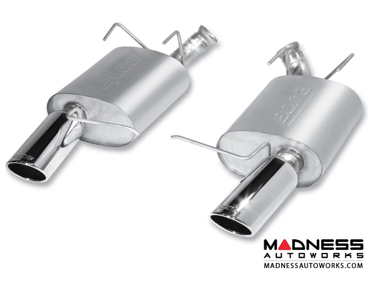 Ford Shelby Mustang GT500 - Performance Exhaust by Borla - Rear Section Exhaust - S-Type (2011-2012)