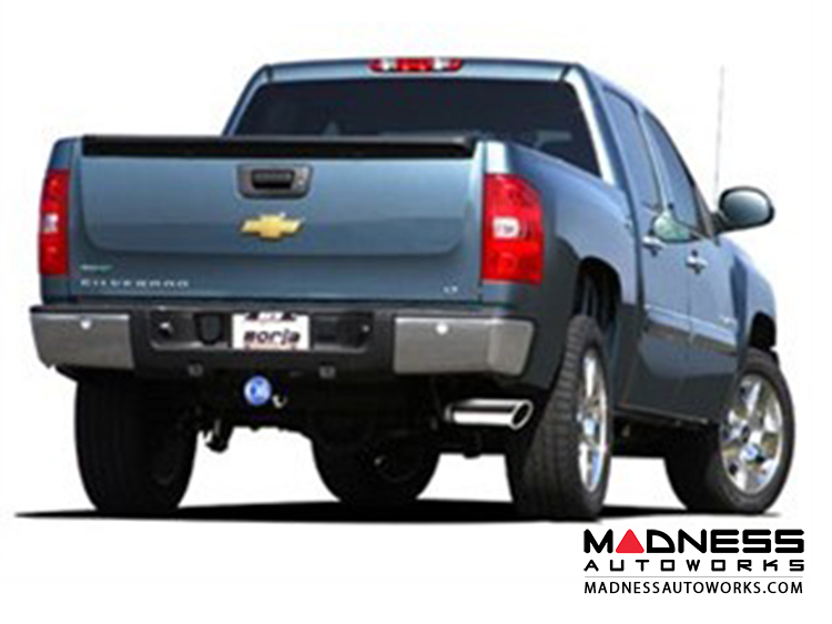 GMC Sierra 1500 - Performance Touring Exhaust by Borla - Cat-Back Exhaust (2011-2013)