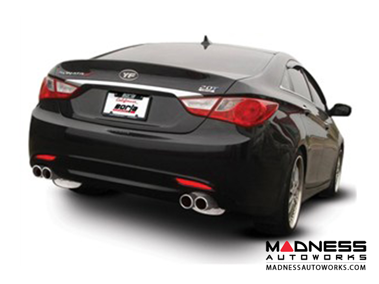 Hyundai Sonata/ Kia Optima - Performance Exhaust by Borla - Cat-Back Exhaust (2011-2013)
