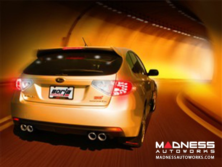 Subaru WRX/ WRX STi - Performance Exhaust by Borla - Cat-Back Exhaust (2008-2012)