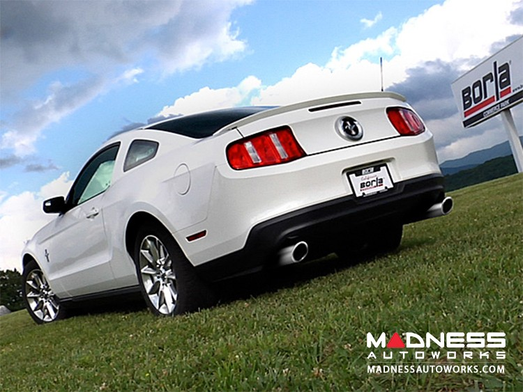 Ford Mustang V6 - Performance Exhaust by Borla - Cat-Back Exhaust - S-Type (2011-2014)