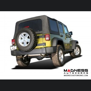 Jeep Wrangler JK (4-door) - Performance Exhaust by Borla - Cat-Back Exhaust - Touring (2007-2011)