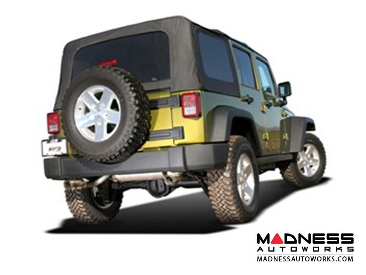 Jeep Wrangler JK (4-door) - Performance Exhaust by Borla - Cat-Back Exhaust - Touring (2007-2011)