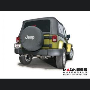 Jeep Wrangler JK (2-door) - Performance Exhaust by Borla - Cat-Back Exhaust - Touring (2007-2011)