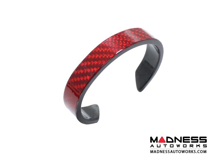 Carbon Fiber Bracelet - Red Carbon