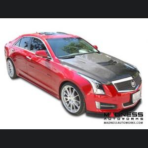 Cadillac ATS Carbon Fiber Hood - TYPE-VT