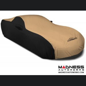 Alfa Romeo 4C Custom Vehicle Cover - Stormproof - Black w/Tan
