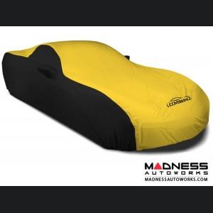 Alfa Romeo 4C Custom Vehicle Cover - Stormproof - Black w/Yellow