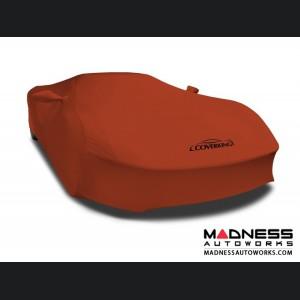 Alfa Romeo 4C Custom Vehicle Cover - Indoor Satin Stretch - Go Mango Orange