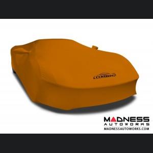 Alfa Romeo 4C Custom Vehicle Cover - Indoor Satin Stretch - Grabber Orange