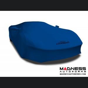 Alfa Romeo 4C Custom Vehicle Cover - Indoor Satin Stretch - Grabber Blue