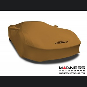 Alfa Romeo 4C Custom Vehicle Cover - Indoor Satin Stretch - Hertz Gold