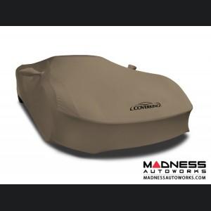 Alfa Romeo 4C Custom Vehicle Cover - Indoor Satin Stretch - Sahara Tan