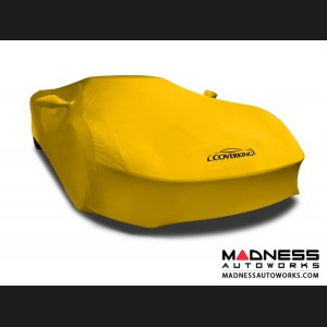 Alfa Romeo 4C Custom Vehicle Cover - Indoor Satin Stretch - Velocity Yellow