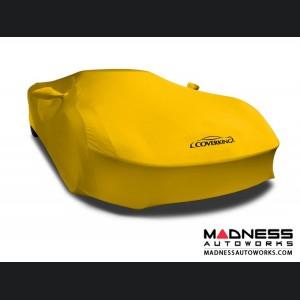 Alfa Romeo 4C Custom Vehicle Cover - Indoor Satin Stretch - Velocity Yellow