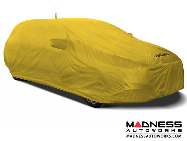 Alfa Romeo Stelvio Custom Vehicle Cover - Stormproof - Yellow + Shark Fin Antenna Pocket