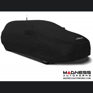 Alfa Romeo Stelvio Custom Vehicle Cover - Stormproof - Black + Shark Fin Antenna Pocket