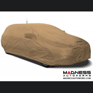 Alfa Romeo Stelvio Custom Vehicle Cover - Stormproof - Tan + Shark Fin Antenna Pocket