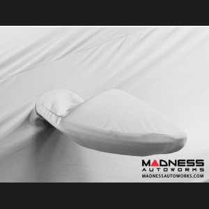 Alfa Romeo Stelvio Custom Vehicle Cover - Stormproof - White + Shark Fin Antenna Pocket