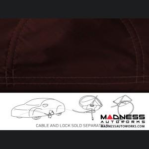 Alfa Romeo Stelvio Custom Vehicle Cover - Stormproof - Wine + Shark Fin Antenna Pocket