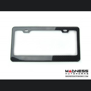 License Plate Frame - 100% Genuine Carbon Fiber