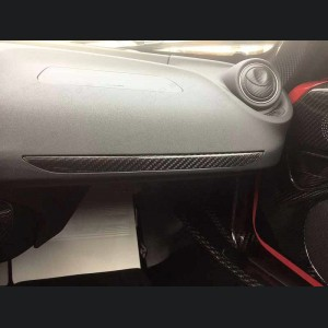 Alfa Romeo 4C Carbon Fiber Dashboard Trim