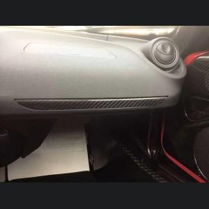Alfa Romeo 4C Carbon Fiber Dashboard Trim - Matte Finish