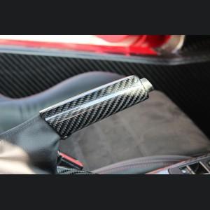 Alfa Romeo 4C Carbon Fiber e-Brake Handle