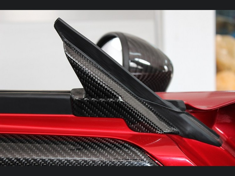 Alfa Romeo 4C Carbon Fiber Interior Door Triangle Cover Kit