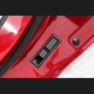Alfa Romeo 4C Carbon Fiber Trunk Release Handle