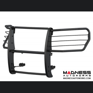 Chevrolet Silverado 1500 Grille Guard - Semi-gloss Black Powder-Coated Steel