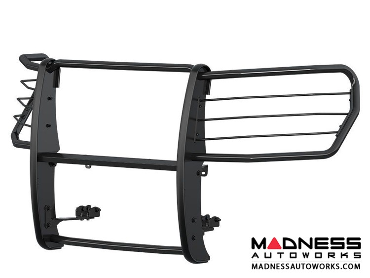 GMC Sierra 1500 Grille Guard - Semi-gloss Black Powder-Coated Steel