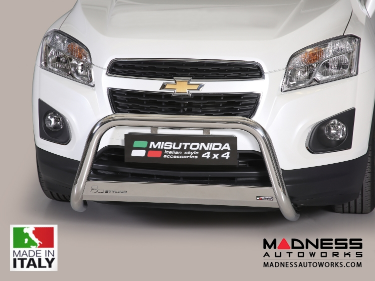 Chevrolet Trax Bumper Guard - Front - Medium Bumper Protector by Misutonida