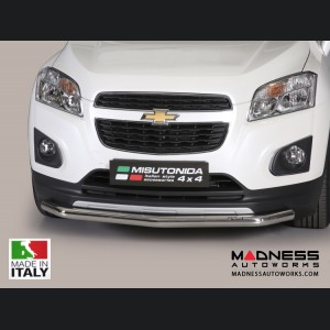 Chevrolet Trax Bumper Guard - Front - Slash Bar Bumper Protector by Misutonida