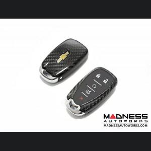 Chevrolet Camaro Carbon Fiber Key Cover - Carbon Fiber