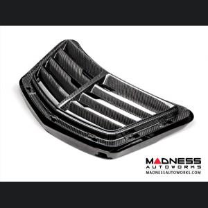 Chevrolet Corvette Carbon Fiber Hood Scoop w/ Vents - Anderson Composites - C7