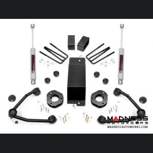"Chevy Silverado 1500 4WD Suspension Lift Kit w/ Upper Control Arms - 3.5"" Lift - Cast Steel"